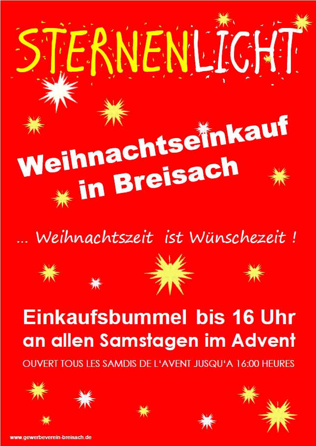 Advent einkaufen Breisach