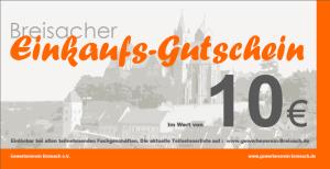 Breisacher Einkaufs-Gutschein