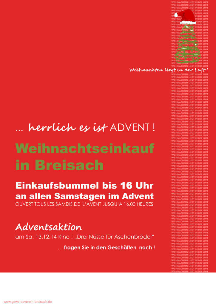 Weihnachtseinkauf in Breisach 2014