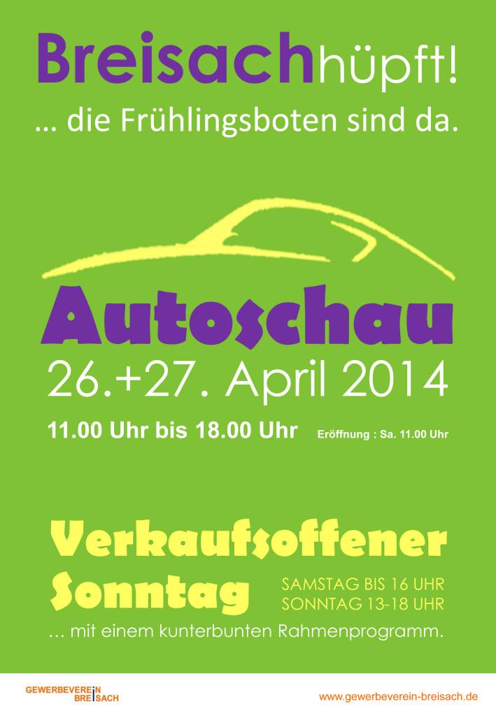 Autoschau und verkaufsoffener Sonntag 2014