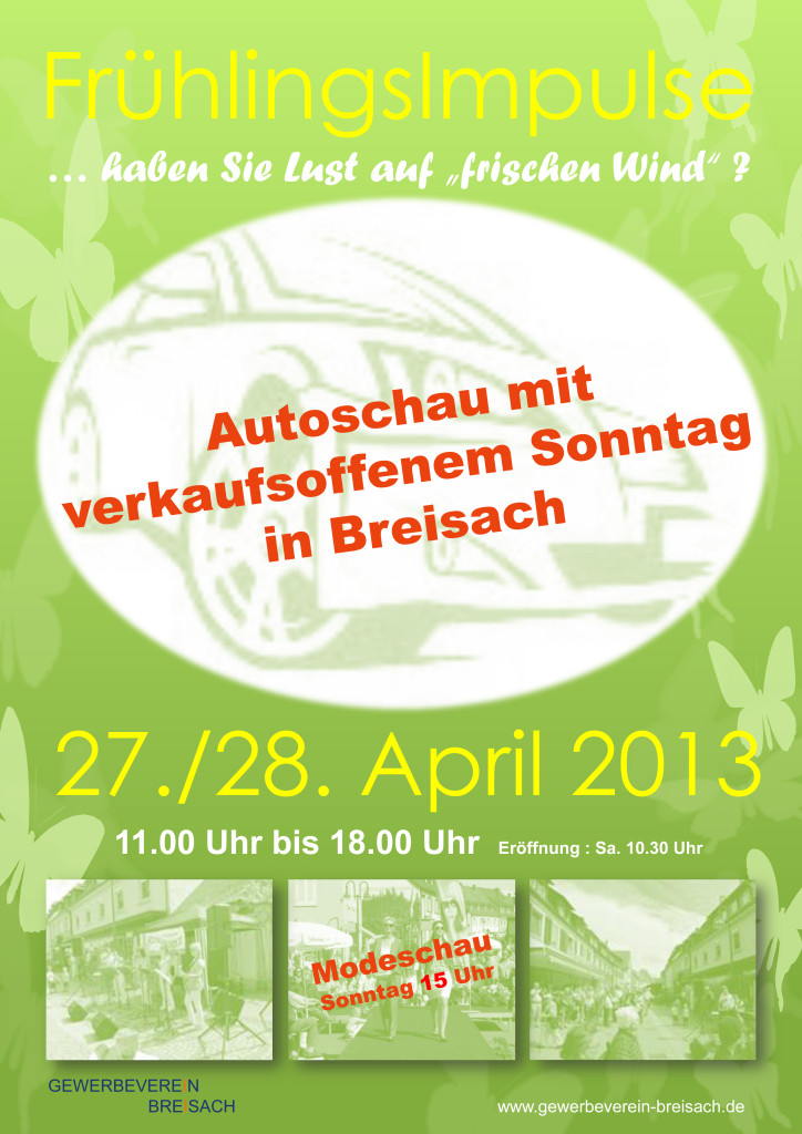 Autoschau 2013 in Breisach