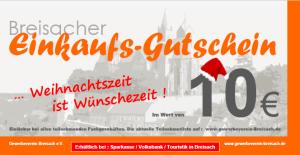 Weihnachten Gutschein Breisach